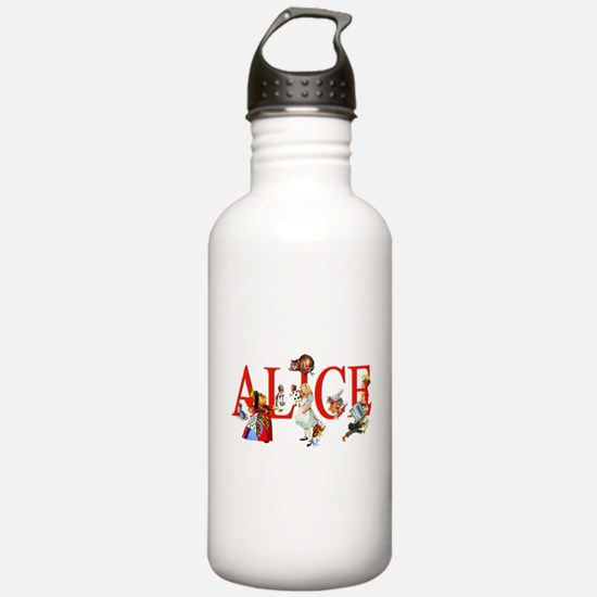 Alice and Her Friends Water Bottle