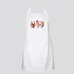 Alice and Her Friends in Wonderland Apron