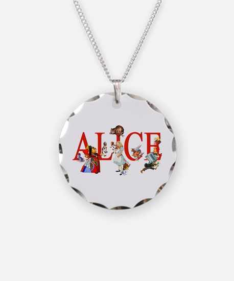 Alice and Her Friends in Won Necklace