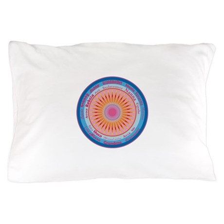 Grandmother World Pillow Case