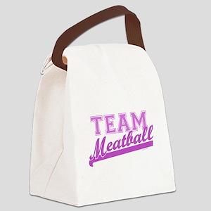 Team Meatball Canvas Lunch Bag