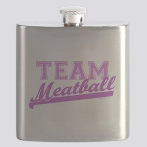 Team Meatball Flask