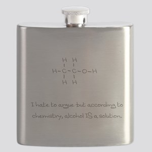 According to chemistry... Flask