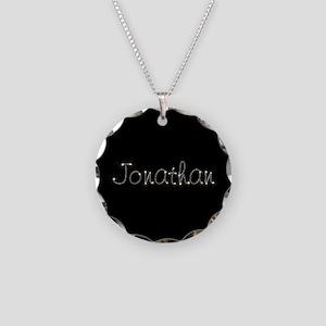 Jonathan Spark Necklace Circle Charm