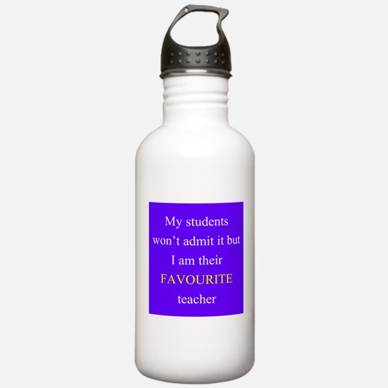 Favourite Teacher PURPLE Water Bottle