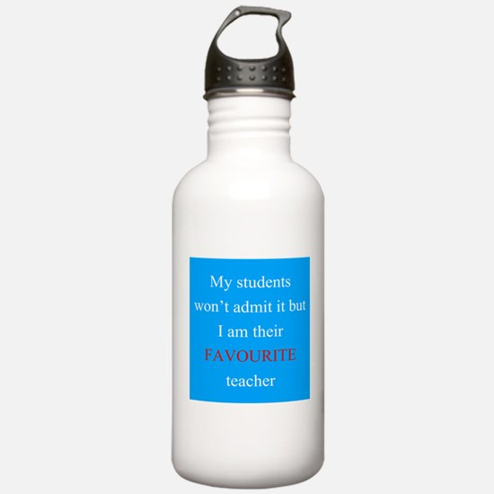 Favourite Teacher BLUE 2 Water Bottle