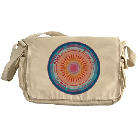 Grandmother World Messenger Bag