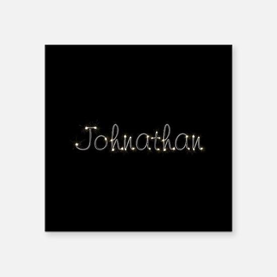"Johnathan Spark Square Sticker 3"" x 3"""