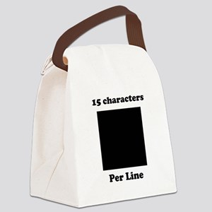 customdesign Canvas Lunch Bag