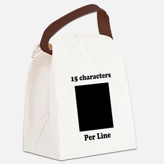 customdesign Canvas Lunch Bag