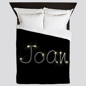 Joan Spark Queen Duvet