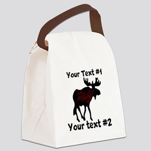 custommoose Canvas Lunch Bag