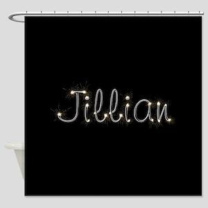 Jillian Spark Shower Curtain