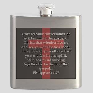 Philippians 1:27 Flask