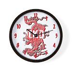 TKD Dragon Wall Clock
