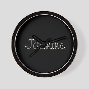 Jazmine Spark Wall Clock