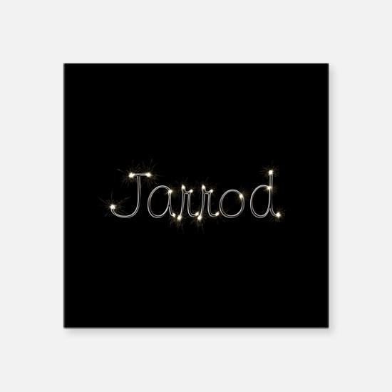 "Jarrod Spark Square Sticker 3"" x 3"""
