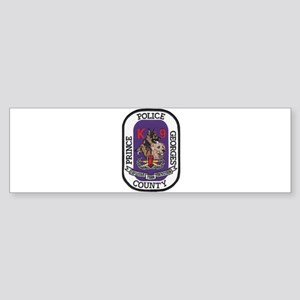 Prince Georges k9 Bomb Bumper Sticker