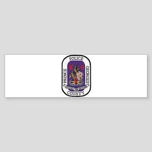 Prince Georges k9 Bomb Bumper Sticker