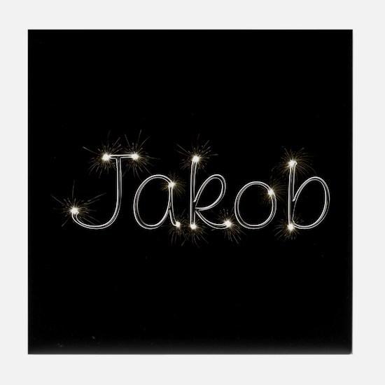 Jakob Spark Tile Coaster