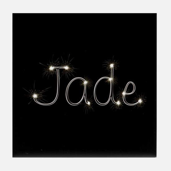 Jade Spark Tile Coaster