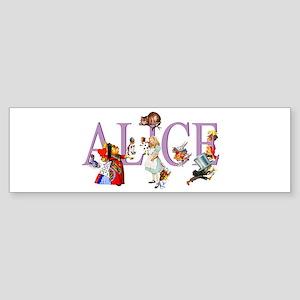Alice and Her Friends in Wonderla Sticker (Bumper)