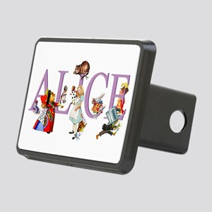 Alice and Her Friends in W Rectangular Hitch Cover