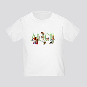 Alice and Her Friends in Wonderlan Toddler T-Shirt