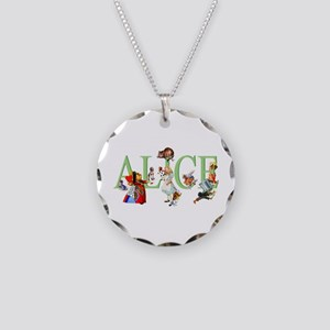 Alice and Her Friends in Won Necklace Circle Charm