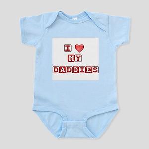 I love my daddies Infant Creeper