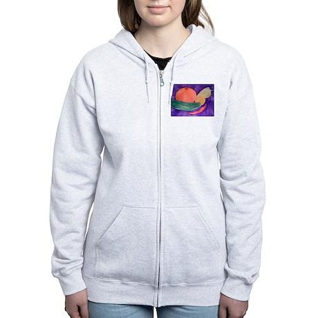 FRUITS & VEGGIES Women's Zip Hoodie