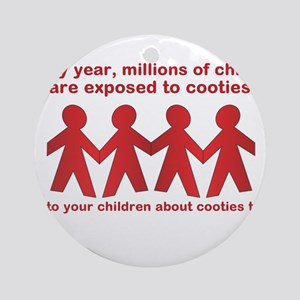 cooties Ornament (Round)