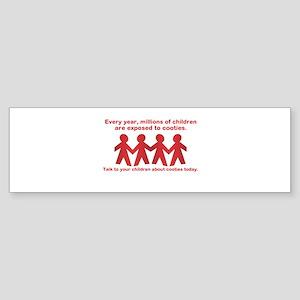 cooties Sticker (Bumper)