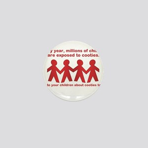 cooties Mini Button