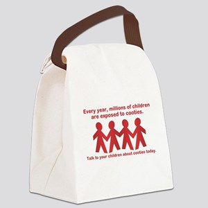 cooties Canvas Lunch Bag