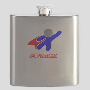 Super Dad Flask