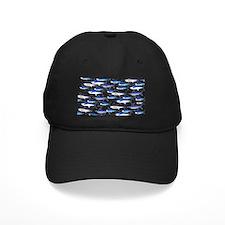 School of Marlin and a Swordfish Black Cap