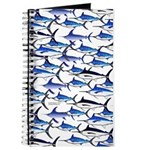 School of Marlin and a Swordfish Journal