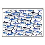 School of Marlin and a Swordfish Banner