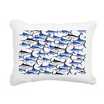 School of Marlin and a Swordfish Rectangular Canva