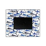 School of Marlin and a Swordfish Picture Frame