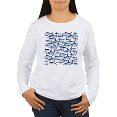 School of Marlin and a Swordfish T-Shirt