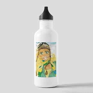 Breezy Brooklyn Loves Winter Stainless Water Bottl