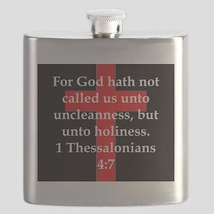 1 Thessalonians 4:7 Flask