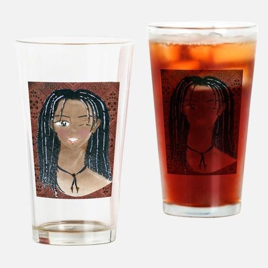 Klip Goes Easy Drinking Glass