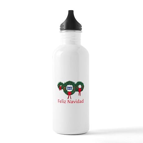 Honduras Christmas 2 Stainless Water Bottle 1.0L