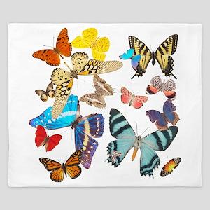 Beautiful Butterflies King Duvet