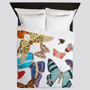 Beautiful Butterflies Queen Duvet