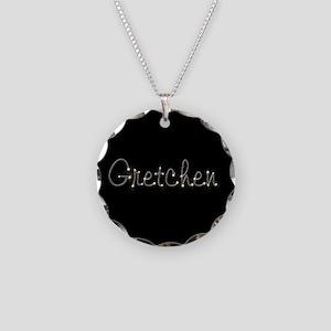 Gretchen Spark Necklace Circle Charm