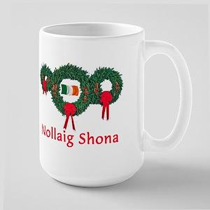 Ireland Christmas 2 Large Mug